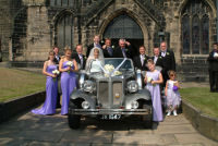 Silver Beauford by Charisma Wedding Services