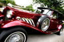 Burgundy Beauford from Charisma Wedding Services